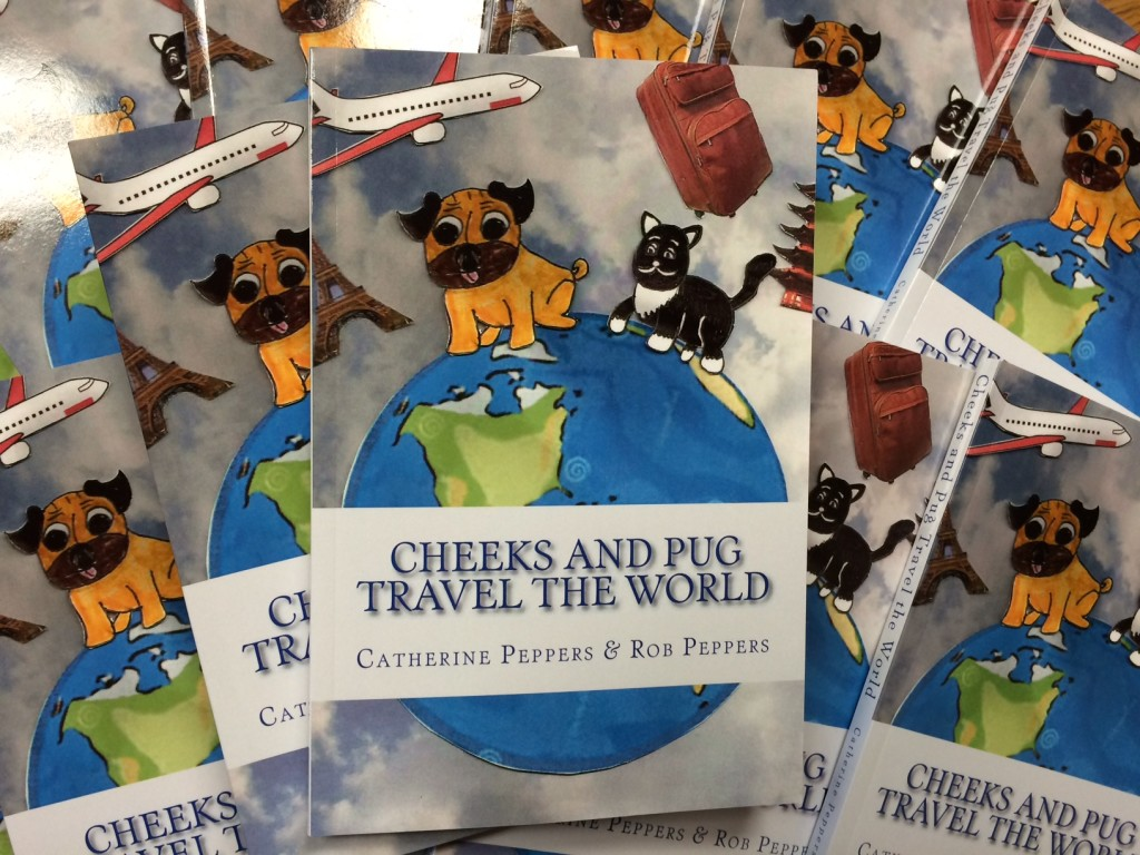 """Cheeks and Pug"" is available at the Local Depot!"
